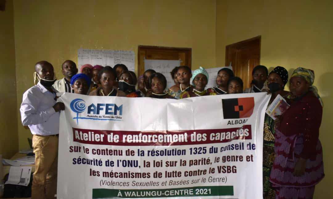 Actes de violence contre les femmes et violences sexuelles – Vers la transition – Sud-Kivu
